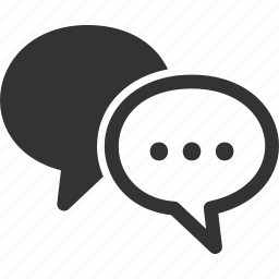 chat, discussion, speech bubbles icon