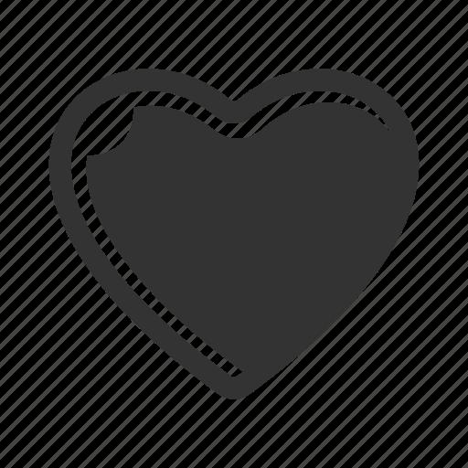 favorite, heart shape, love icon