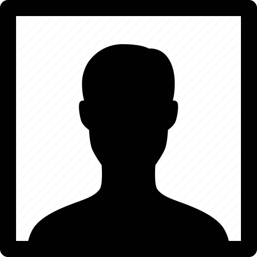 headshot, male, man, photo, picture, portrait, selfie icon