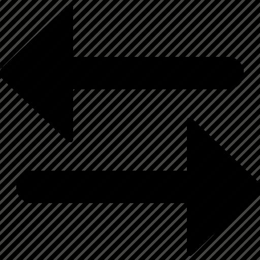 arrow, arrows, exchange, interaction, money, trade, transfer icon