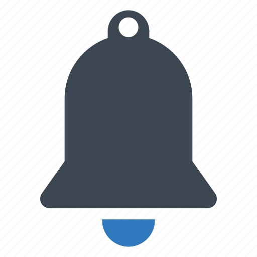 alarm, gong, notification icon