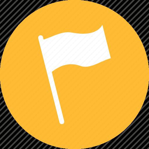 alert, banner, flag, important, surrender, tag icon