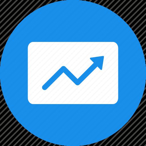 chart, finance, graph, growth, increase, revenue icon