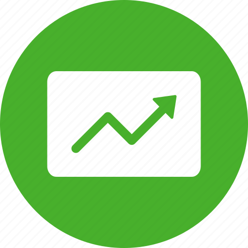 chart, finance, graph, growth, increase, revenue icon