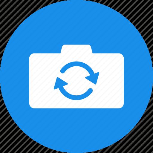 back, camera, change, flip, front, swap, switch icon