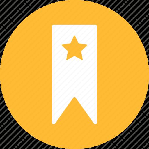 book, bookmark, favorite, mark, marker, ribbon icon
