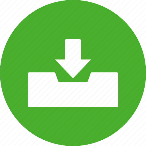email, fax, inbox, incoming, mail, mailbox, receive icon
