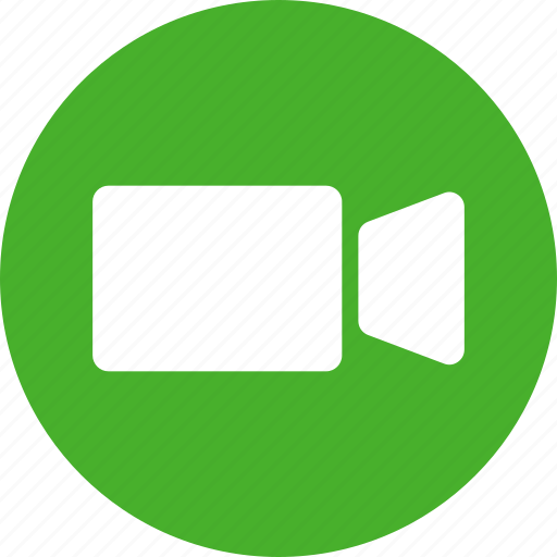 camcorder, camera, clip, director, film, green, movie icon