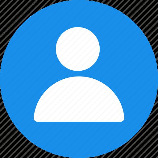 account, avatar, circle, contact, male, portrait, profile icon