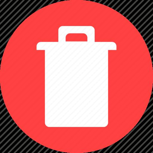 bin, delete, file, junk, recycle, rubbish, trash icon