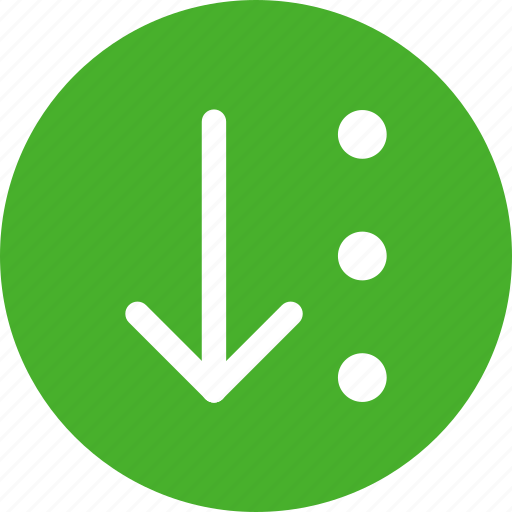 arrow, arry, files, list, numbers, organize, sort icon