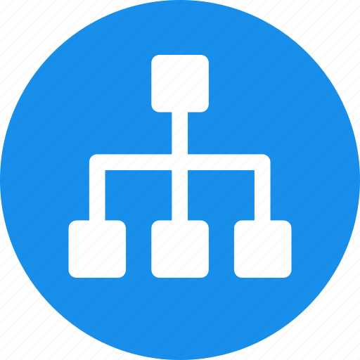 branch, map, site, sitemap, structure, website icon
