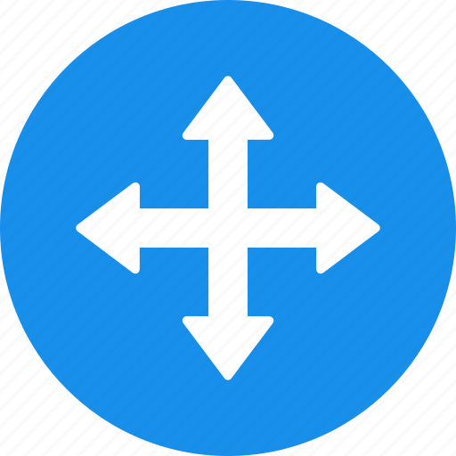 arrow, direction, down, left, move, right, up icon