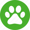 animal, dog, foot, paw, pet, pets, print icon