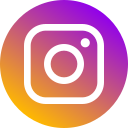 circle, instagram, logo, media, network, new, social icon