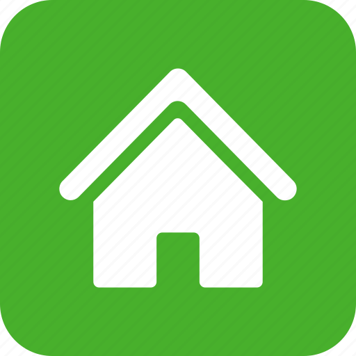 building, estate, green, home, house, real, square icon