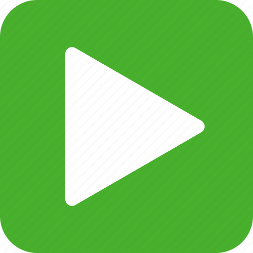 green, movie, next, play, square, start, video icon