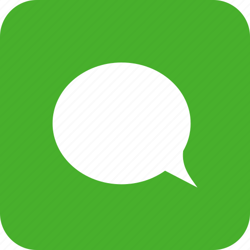 chat, chatting, comment, green, message, square, talk icon