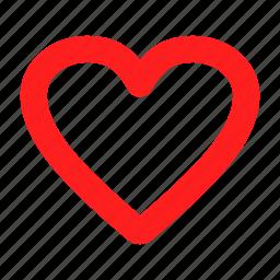 heart, inlove, love, red, unlove icon