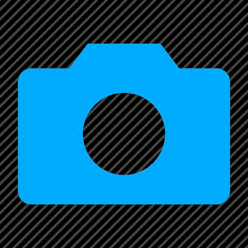 blue, camera, photo, photography icon