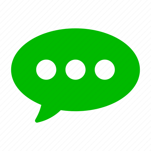 comment, green, message, talk, texting icon