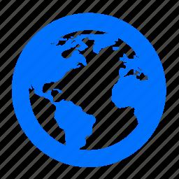 browser, earth, globe, internet, world icon
