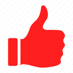 like, thumbs up, up, vote icon