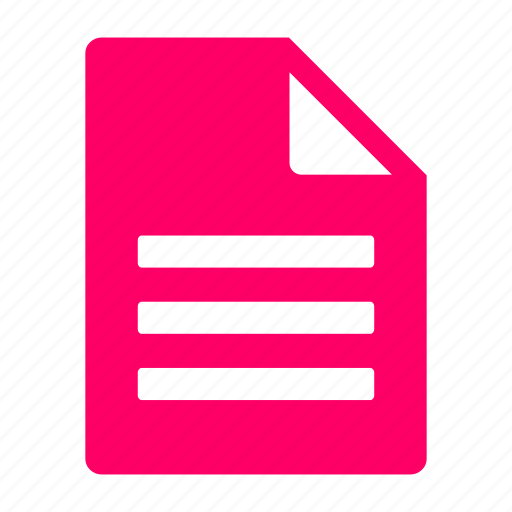 document, documents, file, paper icon