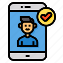 verified, account, social, media, assign, friendly, check