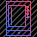 agenda, mobile, schedule icon
