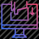 buttom, click, computer icon