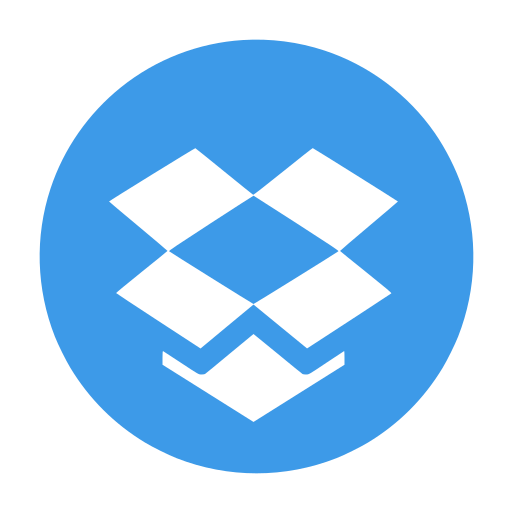 box, dropbox, media, social, storage icon