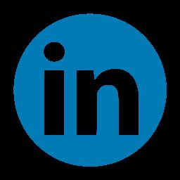 linked, linkedin, logo, media, network, social icon