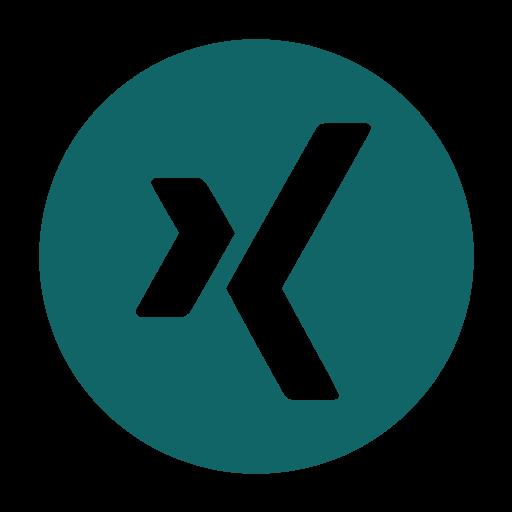 logo, media, network, social, xing icon