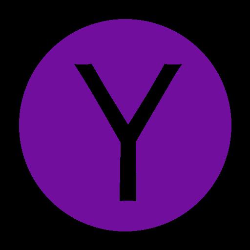 buzz, media, messenger, social, yahoo icon
