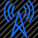 internet, tower, antenna, network, wifi signals, wireless