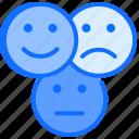 happy, sad, confuse, emojis, smile, emotion