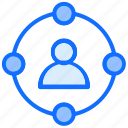 links, user, account, network, sharing