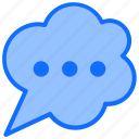 chat, message, notification, comment