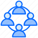 team, network, group, sharing, connection
