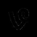 circle, social, vine icon