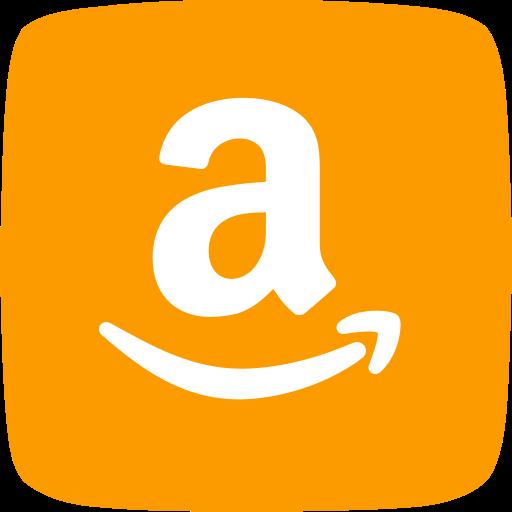 amazon, cloud computing, commerce, company, electronics, shopping, web server icon