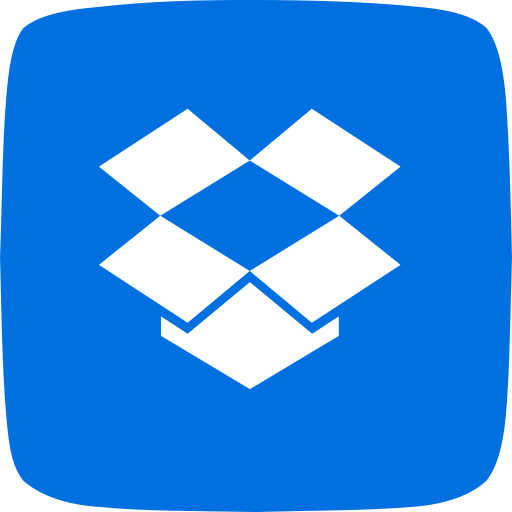 documents, dropbox, file hosting, online, photos, share files, videos icon
