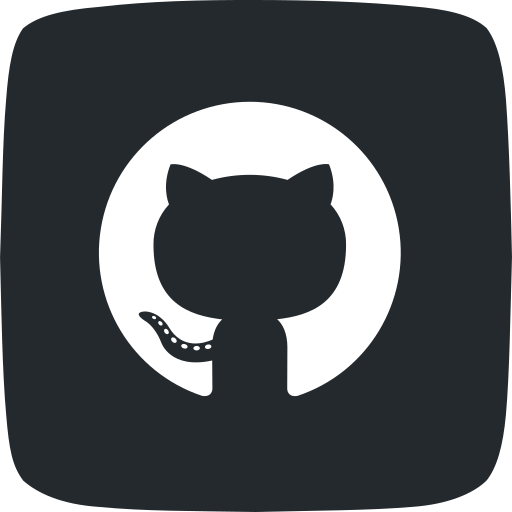 code, git, github, hosting, internet, used for code, version control icon