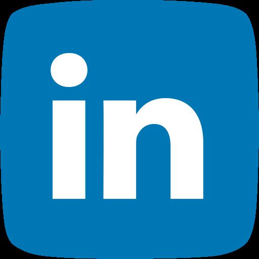 business, employment, identity, linkedin, social media, social networking icon