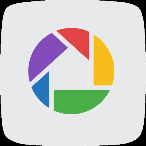 editor, google, photo, photo service, picasa, social media icon