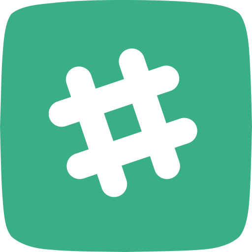 messaging, project management, search, slack, video calling, voice calling icon