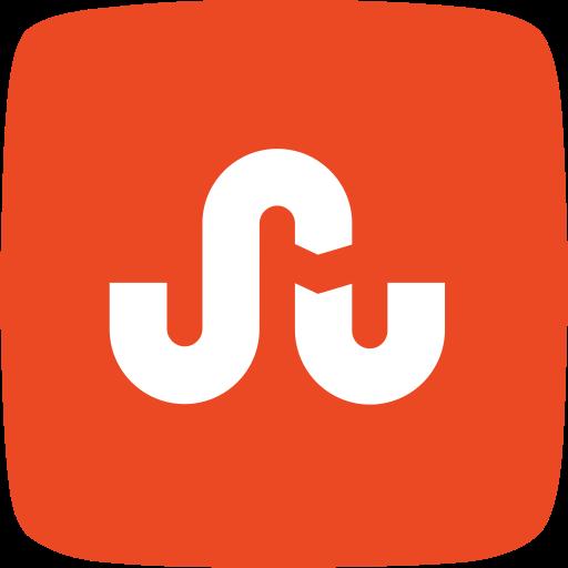 pages, photos, social media, stumbleupon, videos, web content icon