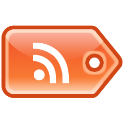 feed, rss, tag icon