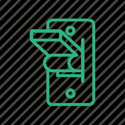 electric, light, light switch, lighting, power socket, socket, switch icon